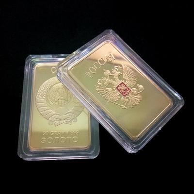 Russian Style Soviet Union Revolution Gold Color Bullion Commemorative  Currency Classic Party Gifts e528844181e4