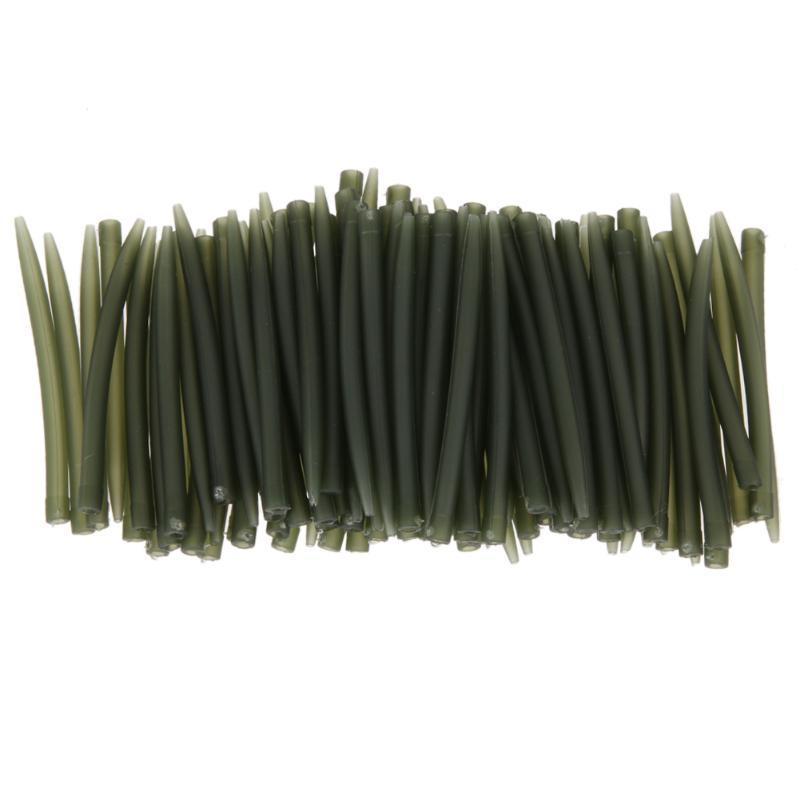 50pcs Carp Fishing Anti Tangle Sleeves Connect with Hook