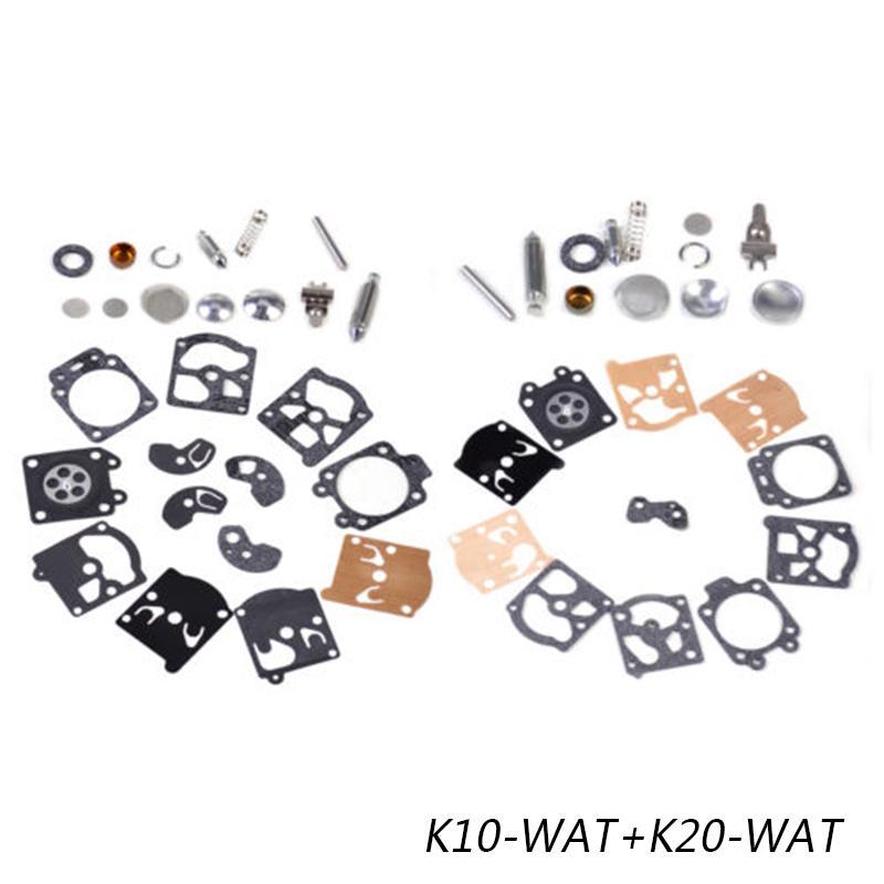 K10 K20-WAT WA//WT Walbro Carb Carburatore Diaframma Guarnizione Kit di riparazione dellago Kit di riparazione
