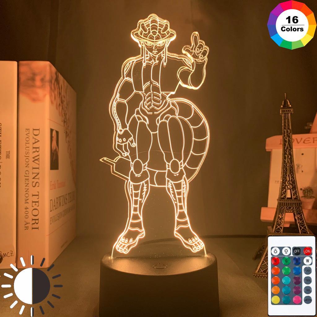 Led Nachtlicht Anime Hunter X Hunter 3D Licht HXH LED Lampe Geburtstagsgeschenk