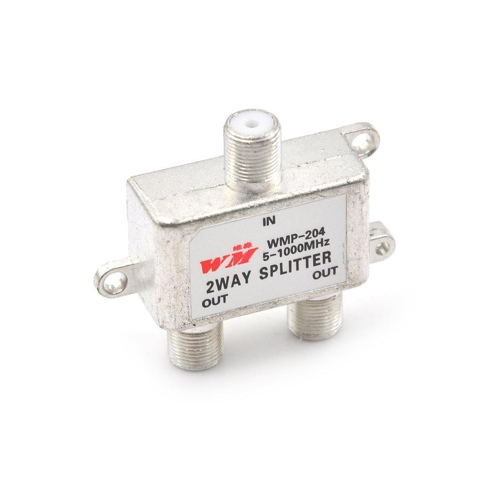 2-Wege-Splitter Signal Koaxial Stecker Kabel TV Schalter F – günstig ...