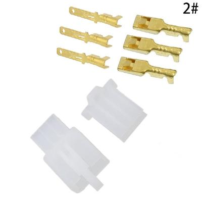Marvelous 2 8Mm 2 3 4 6 9 Pin Electrical Cable Connectors Wire Terminal For Wiring Digital Resources Operbouhousnl