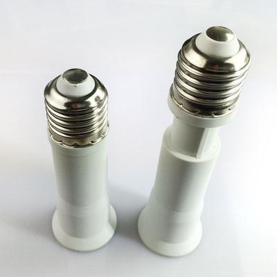 1 pcs White E27 to E27 Socket Light Bulb Lamp Holder Adapter
