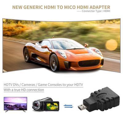 5PCS HDMI Female to Micro HDMI Male Converter Adapter Connector For HDTV Camera