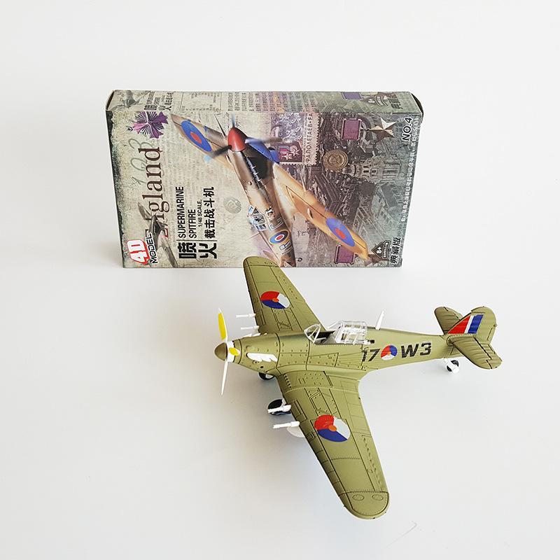 4D Самолет Ассамблеи британской армии 1:48 Ураган Модель Пропеллер Колесо Movable Моделирование Военная модель – купить по низким ценам в интернет-магазине Joom