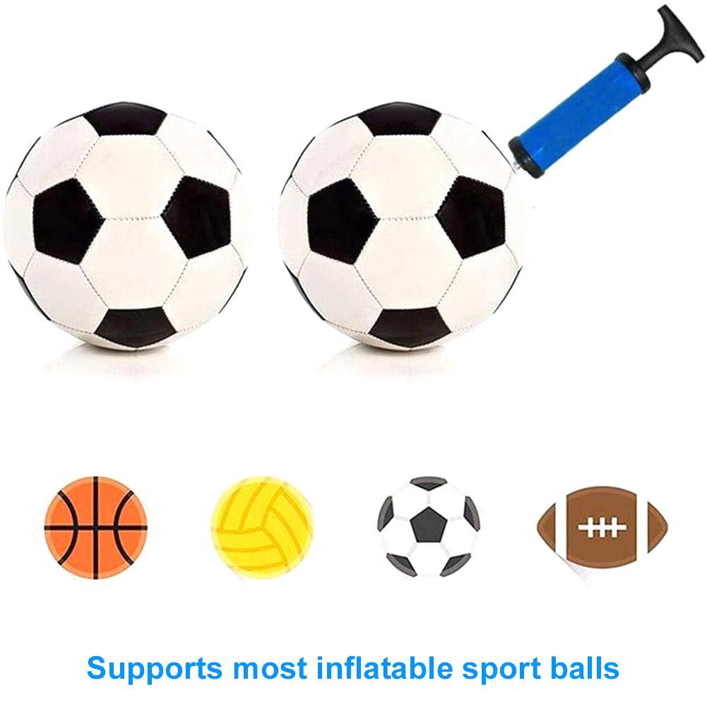 6inch Ball Inflator Hand Air Pump Set For Football Basketball Volleyball Durable