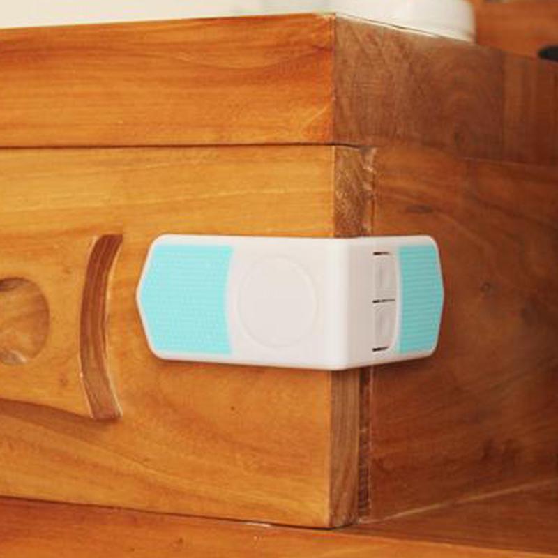 Phenovo 5pcs Kids Baby Safety Cabinet Door Fridge Drawer Cupboard Lock Clips
