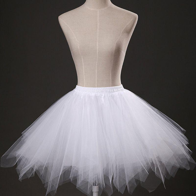 Bridesmay Donna Breve Partito Tutu Vintage Ballerina Gonna Cosplay Sottogonne
