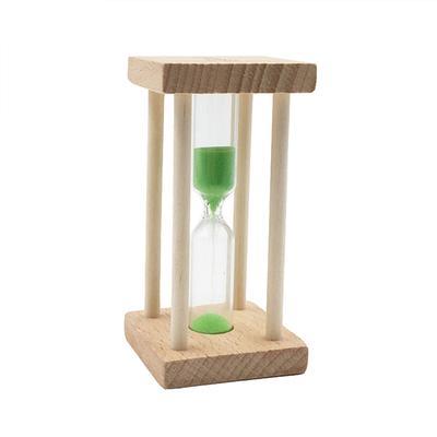 20 Minuten schräg Holz Sanduhr Sanduhr Sanduhr Timer Timing Tools blau