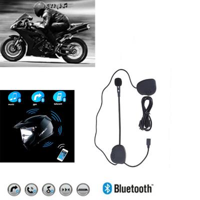 42ab9d2b41e DK-02 Bluetooth Motorcycle Helmet Headset With Microphone and Intercom