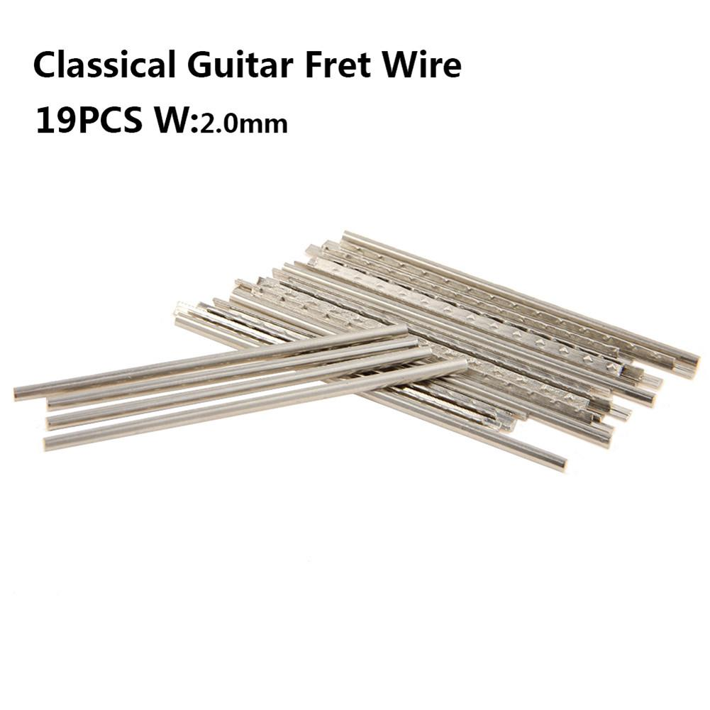 New Arrival 21 Fingerboard Frets Classical Acoustic Guitar Fret Wire Copper 2.0mm Musical Instruments