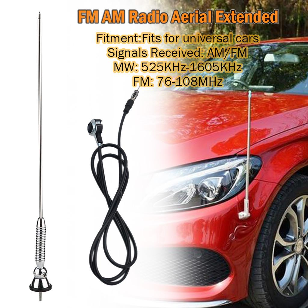 Universal Car Roof Aerial Antenna Mast Flexible Extend  Bee Sting Decor New