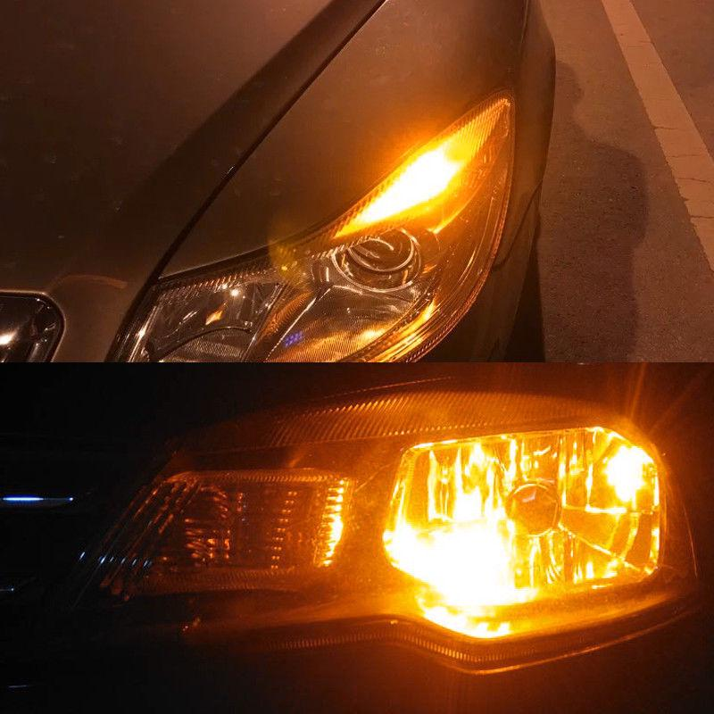 2x Blue SAMSUNG LED 168 194 921 2825 Projector Bulb Signal Backup Parking Light