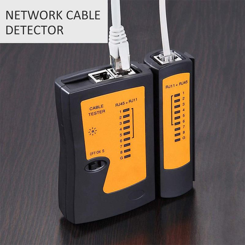 RJ45 RJ11 Networking Cable Tester CAT5 CAT6 LAN Patch Cable PC Test Testing Tool