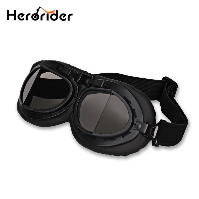 775ef1fe5e Gafas de moto Vintage aviador Jet vespa de la segunda guerra mundial gafas  para Motocross moto Biker crucero - comprar a precios bajos en la tienda en  línea ...