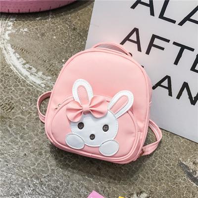 Children Cute Backpack Rabbit Bags kids girls kindergarten backpacks  schoolbags for leather baby 5f442699ed4c1