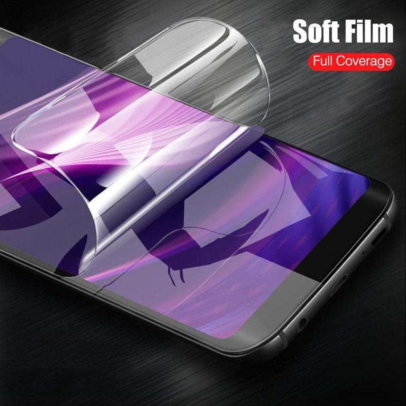 Новый мягкий Full Cover HD экран протектор фильм для Samsung A50 A30 Huawei Честь 20 Xiaomi Nokia фото