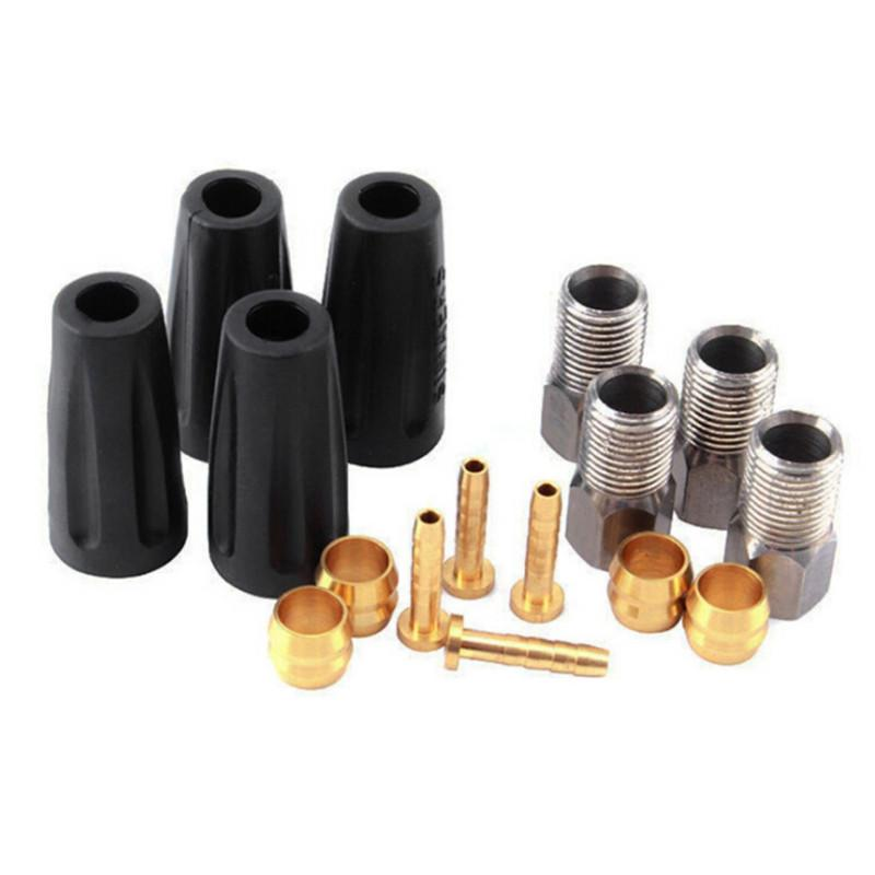 5mm Hydraulic Disc Brake Hose Pipes Tube Connector Insert Set Kit Bicycles