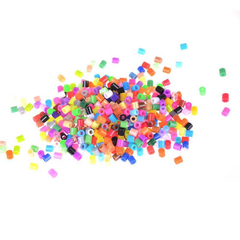 300Pcs//Bag 5mm Hama Beads Perler Beads Kids Education DIY Toys Mixed Color TO