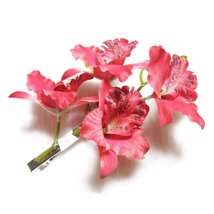 mode frau hochzeit phalaenopsis blume haar clip braut hawaii party