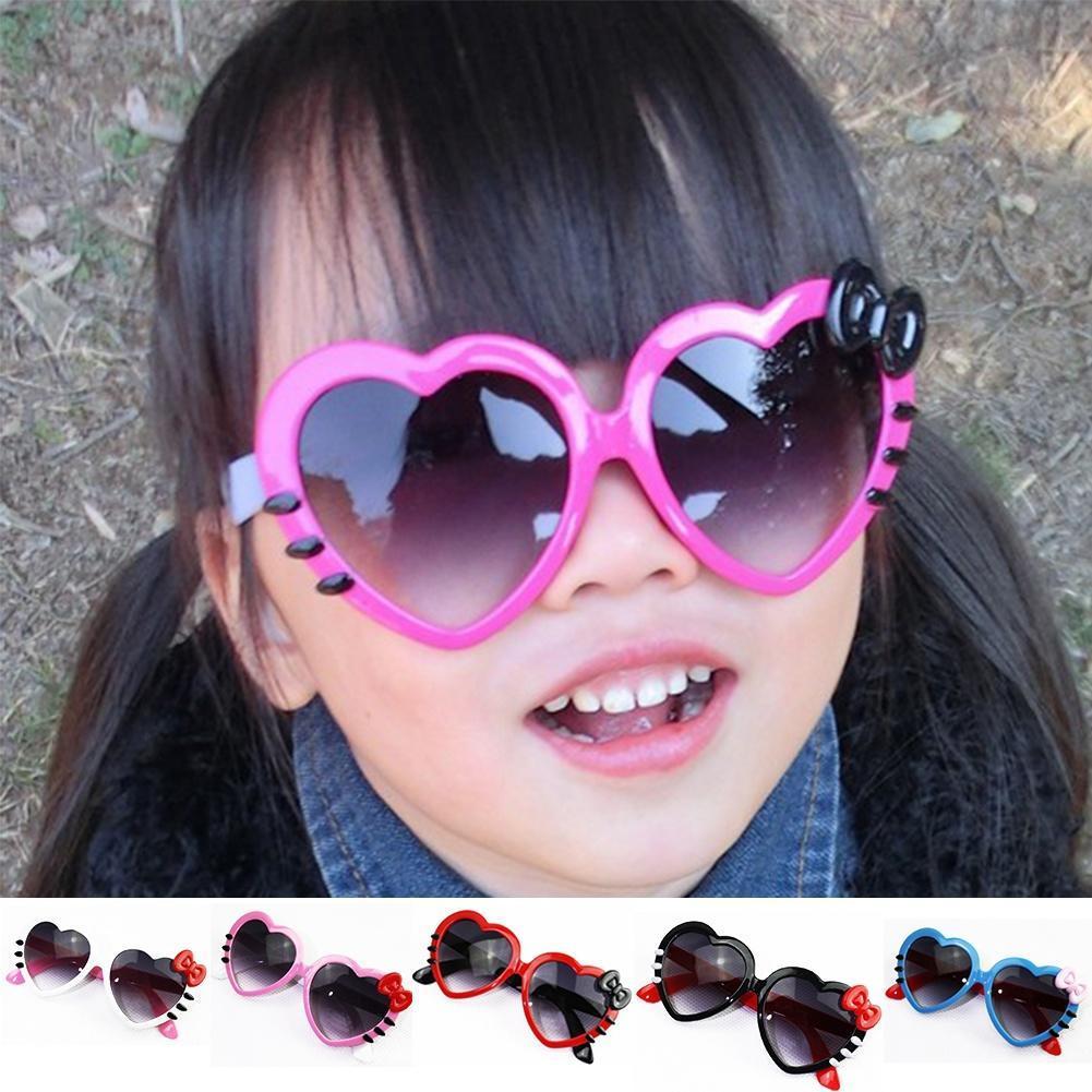 2015新款韩版儿童镜可爱桃心太阳镜时尚蝴蝶结眼镜厂家批发1308