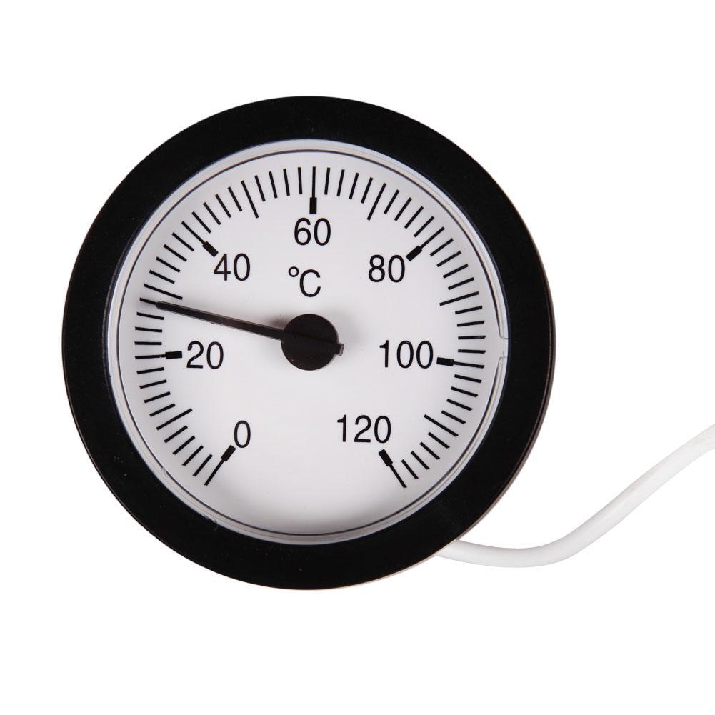 Indicador de Temperatura Term/ómetro Capilar Agua Y Aceite 0-120c Sensor de 1,5 Metros