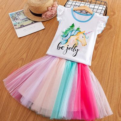 Baby Girls Toddler Dress Summer Floral Print Sundress 1-5 Years Little Princess Dresses Sleeveless Ruffles Skirt