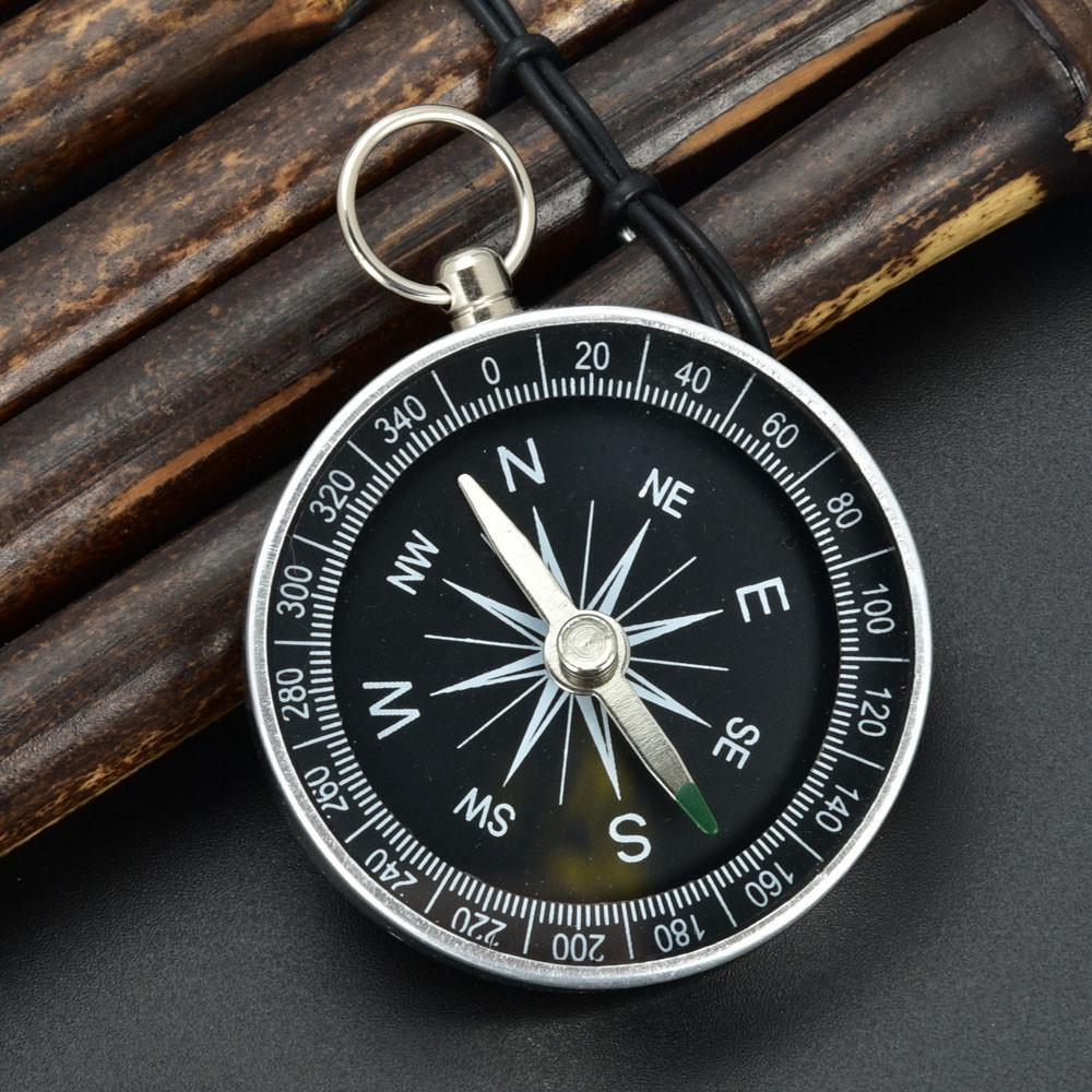 Design Portable Outdoor Camping Hiking Tool Accurate Compass Practical Guider