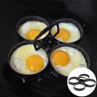 Nonstick 4 Piece Egg Pancake Ring Set Kitchen Cooking Mold Mould Shaper Fry Tool