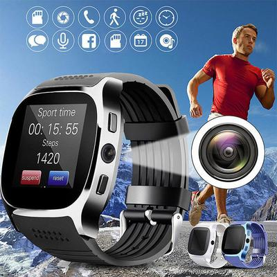 Bluetooth Smart Watch Phone & Camera Sim Card For Android