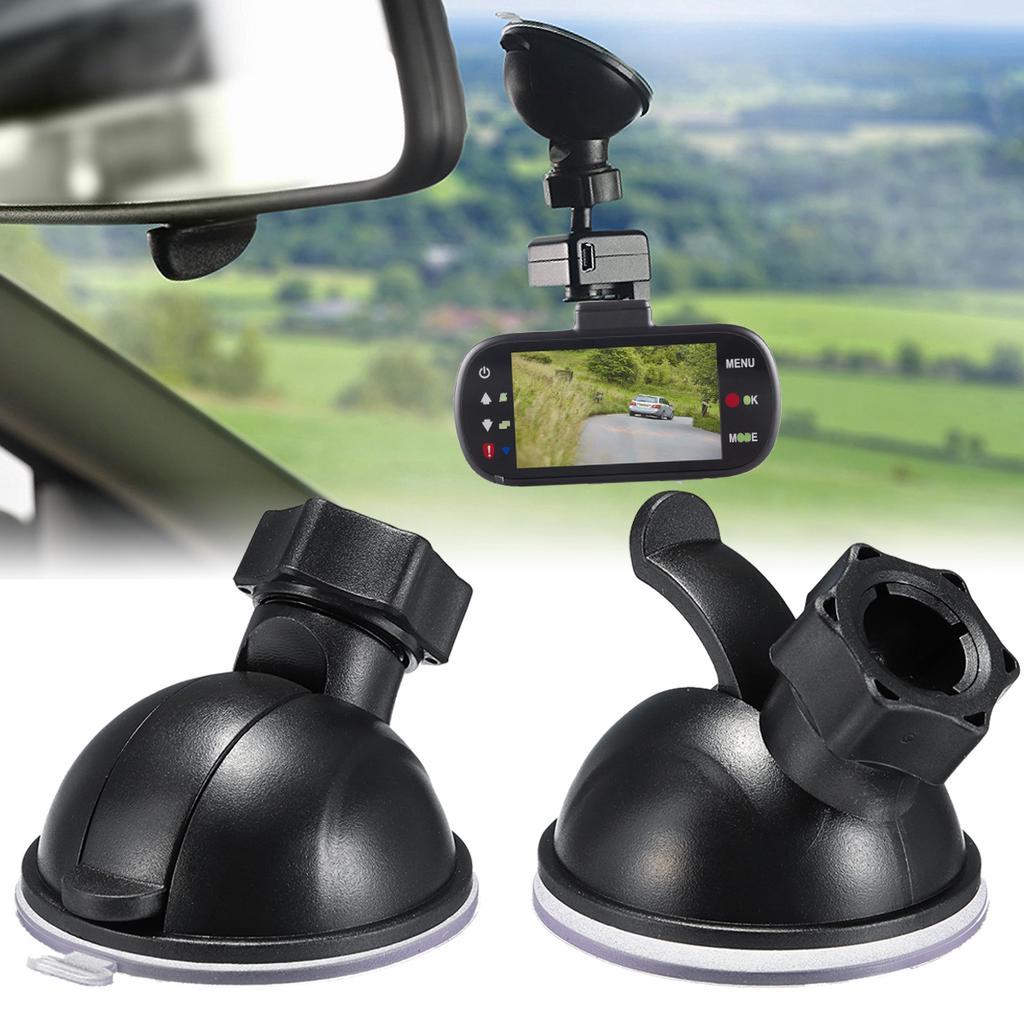 2x Suction Cup Car Windshield Dash Cam Holder Sport DV DVR Camera Mount Holder