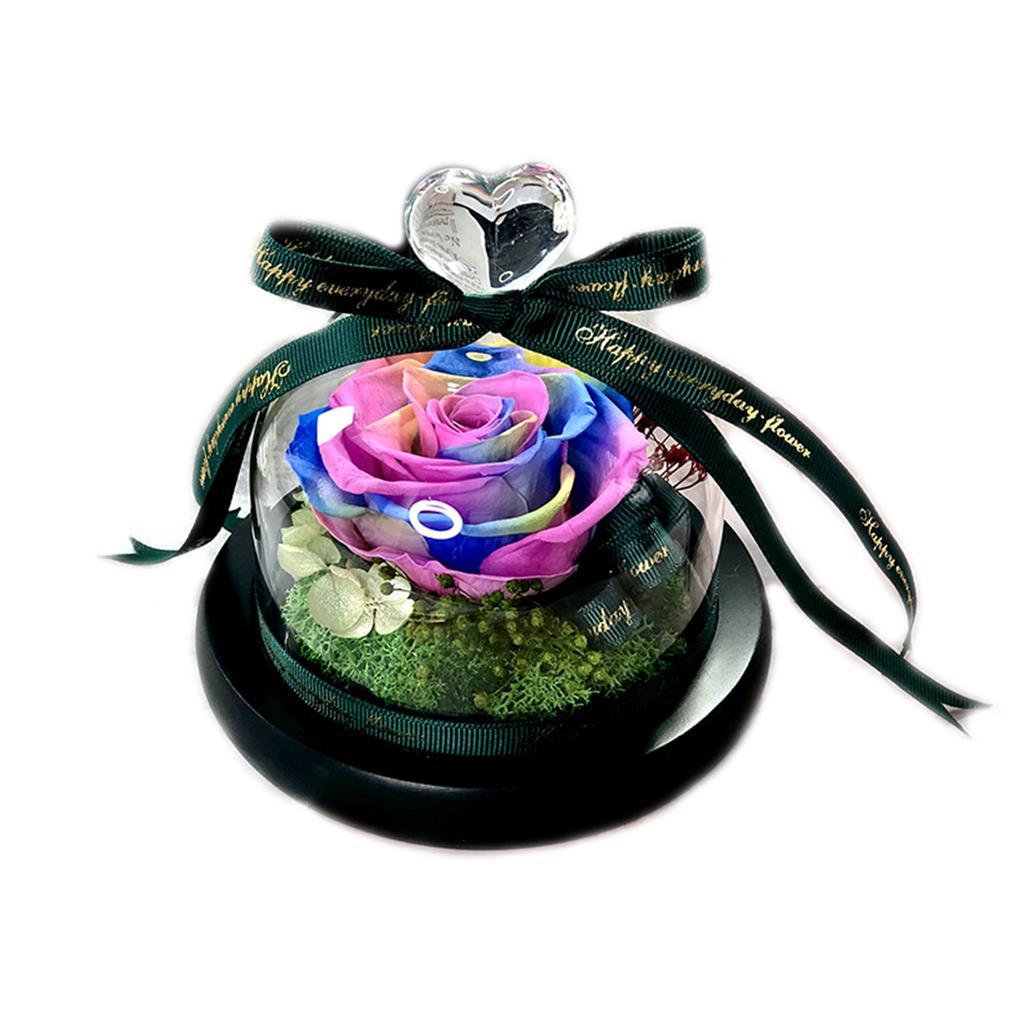 LED Rose Flower Emulation Luminous Romantic Crystal Gift Valentine/'s Day Decors