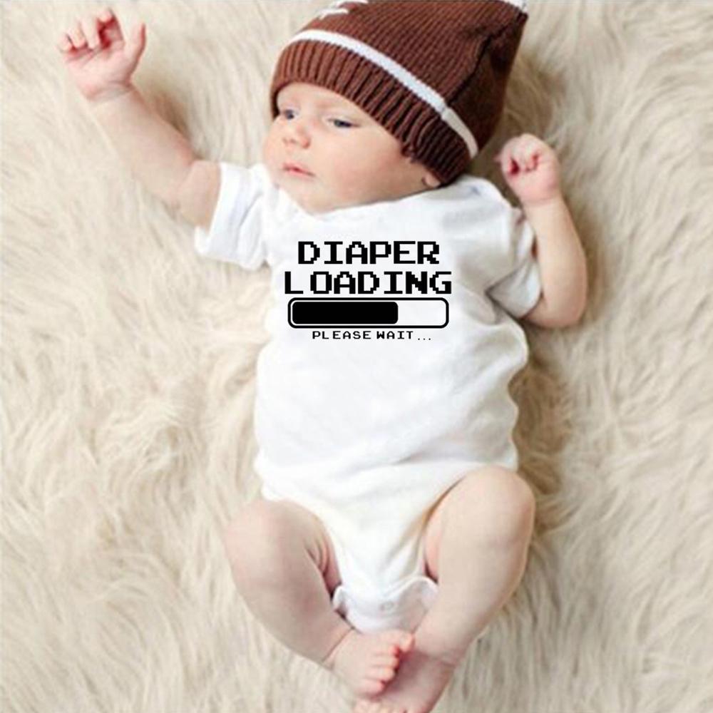 Diaper Loading Please Wait Bodysuit