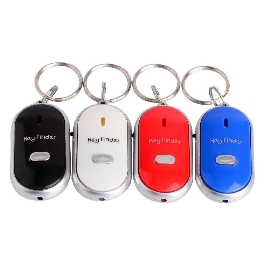 Key Finder Locator Bluetooth tracker Key chain Whistle Sound Control car styling