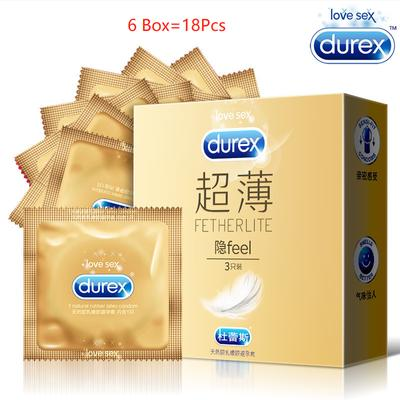 Condom Super Feeling 3in1 Etra Lubricant Super Thin Slim Natural Latex Sex Products Intimate Goods Penis Sleeve Sex for Men