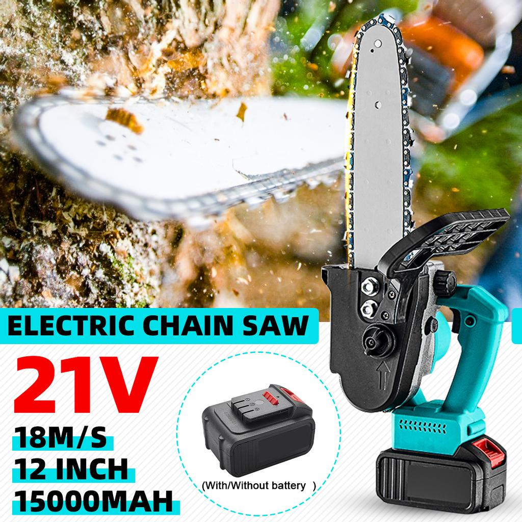 Cordless Electric Chain Saw Woodworking Pruning Cutter for Makita Battery New