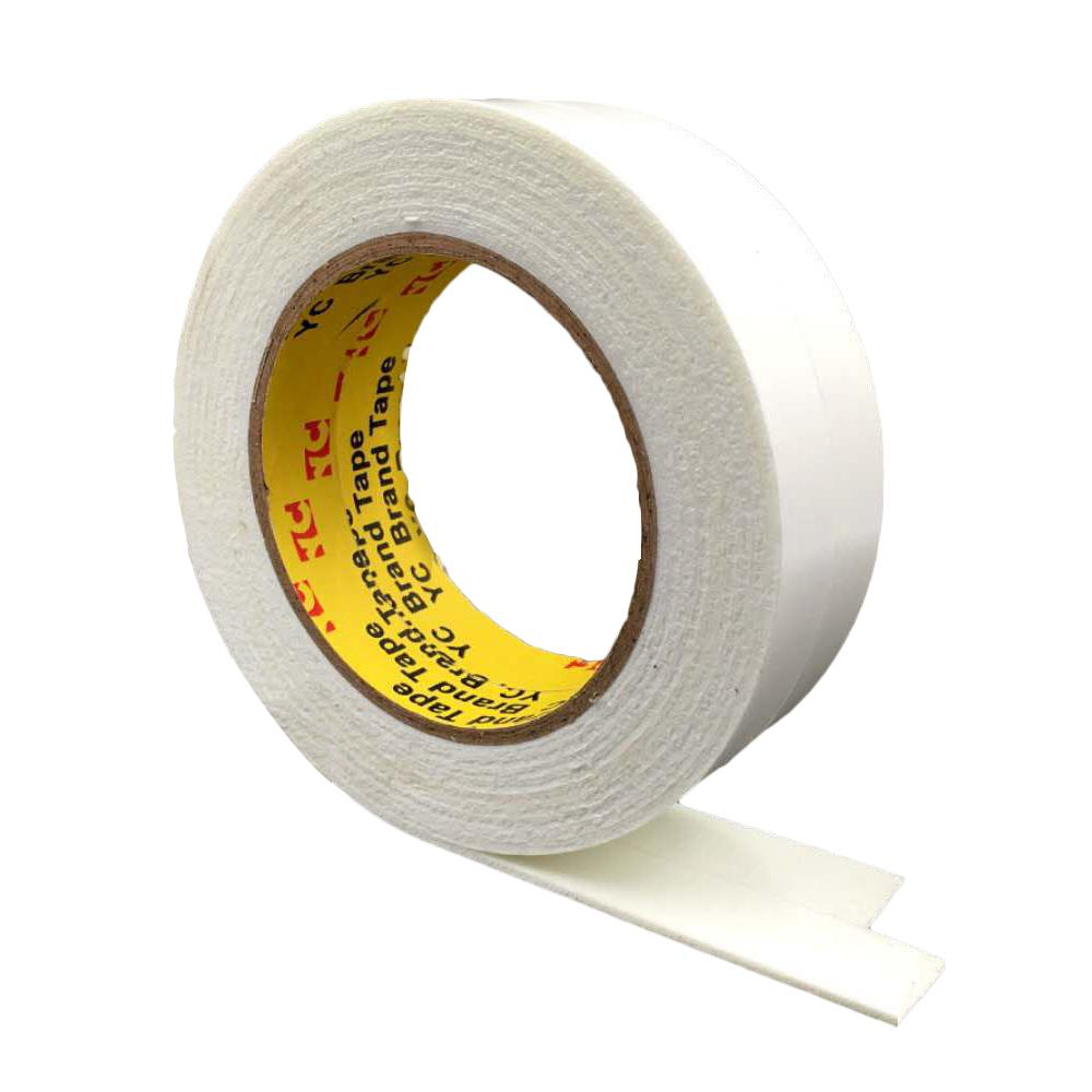 1x Double-Sided Adhesive Tape Very Strong Paste Sticky Intensity White Tape 10M