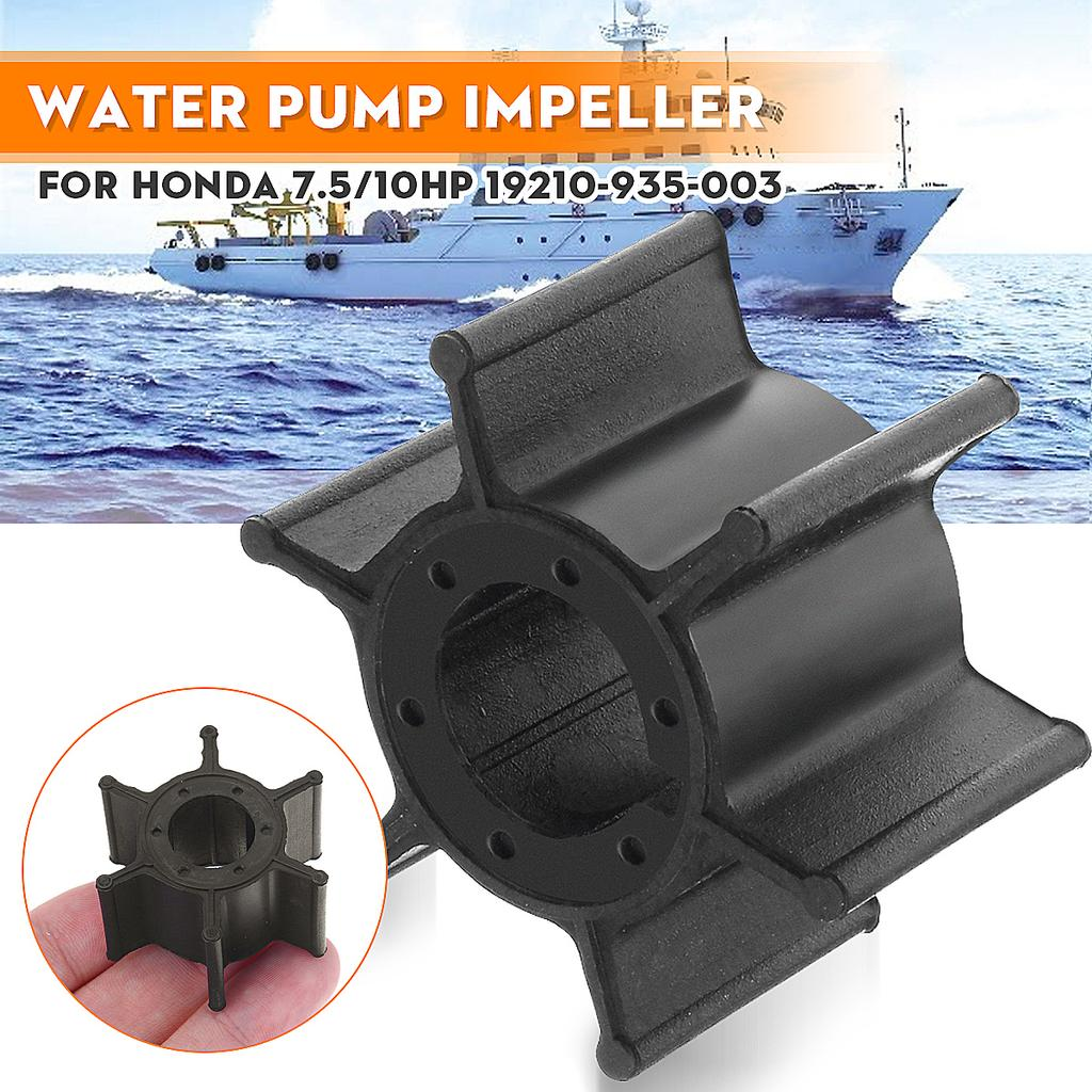 Water Pump Impeller Water Pump Impeller 19210-935-003 Replacement Fit for Honda 7.5HP B75K1 BF75Z 10HP BF100