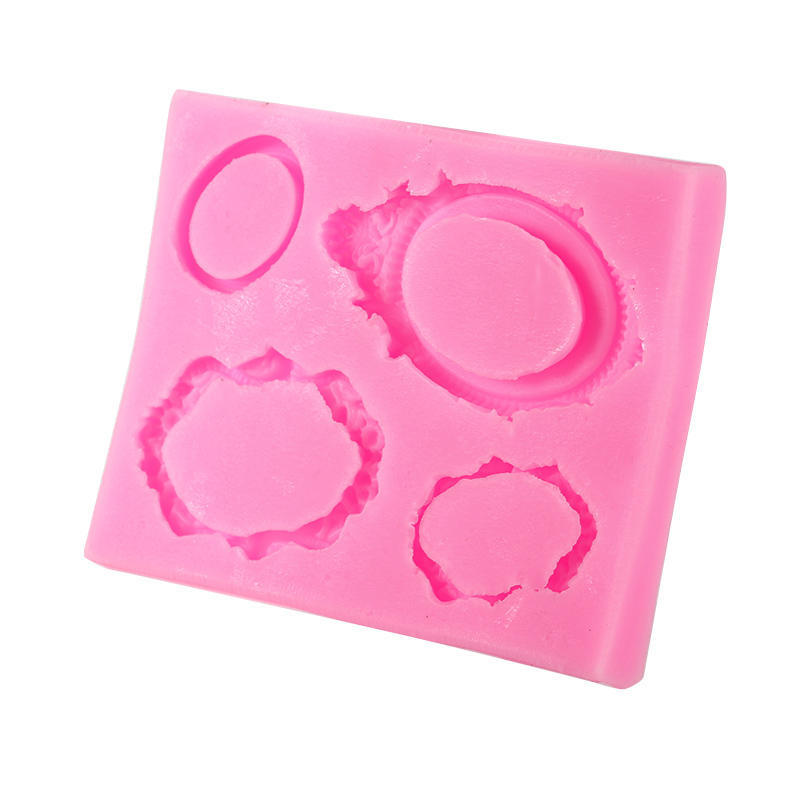 Spiegel Rahmen Zucker Schokoladenform Kuchen dekorieren Gebäck Candy ...