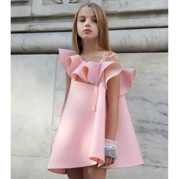 Девушки слинг платье взъерошенные Пушистые Детские принцессы платье