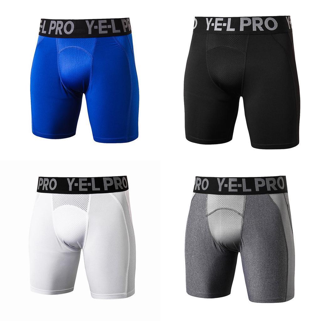 (ZD)PRO运动紧身裤 篮球田径跑步足球打底裤吸湿排汗五分短裤健身训练