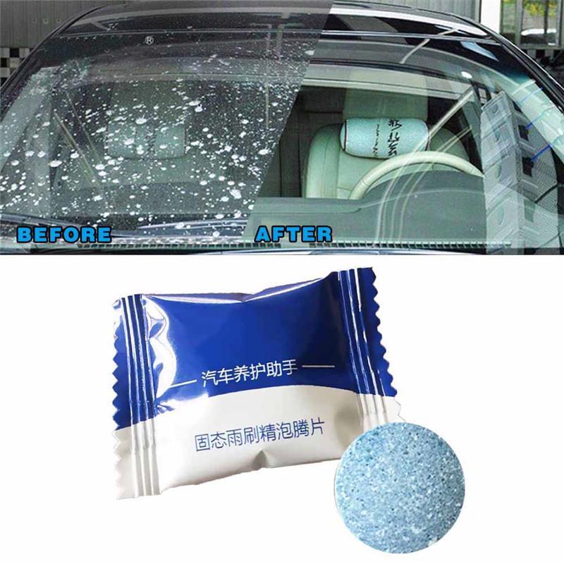 Автомобиля чистых компактных стекла шайбу стиральный порошок шипучих таблеток – купить по низким ценам в интернет-магазине Joom