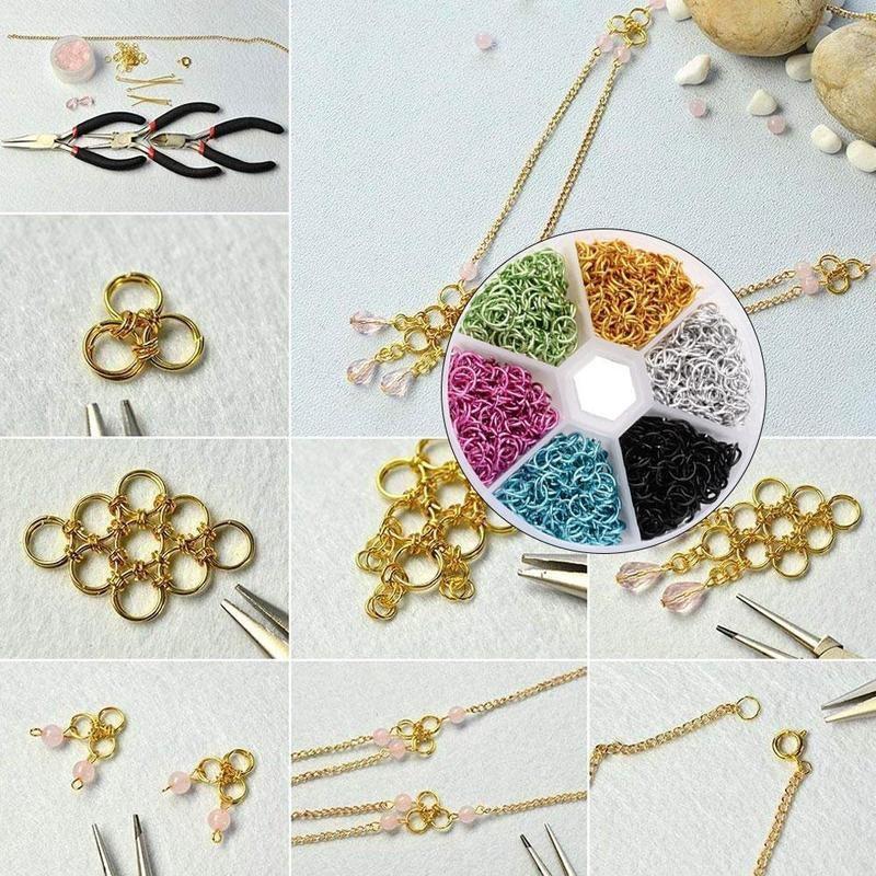 50pcs Tibetan Silver Loose Spacer Charm Metal Bead Jewelry Findings 6x6x6mm