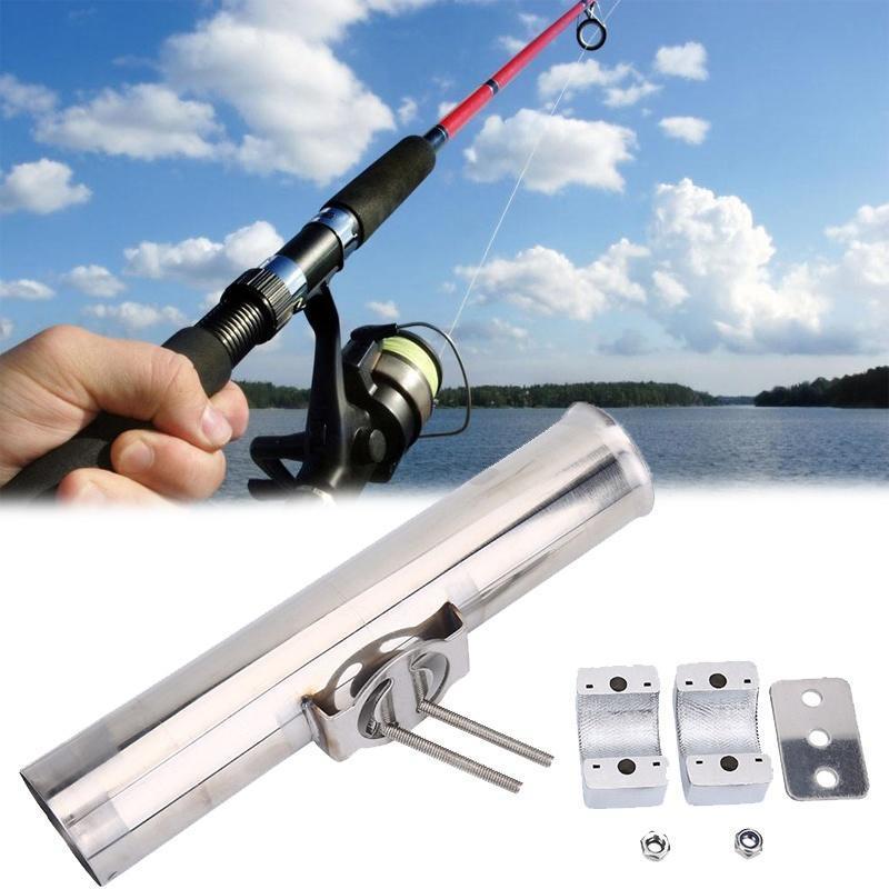 360º Swivel Adjustable Boat Fishing Rod Holders Rests Bracket With Combo Mount
