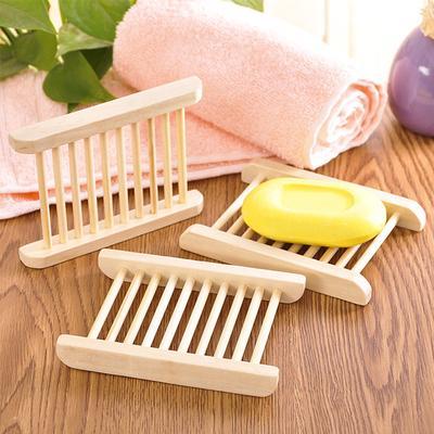 Waterfall Soap Holder Tray Drain Bathroom Soap Box Sink Soap Dish Rack Plate New
