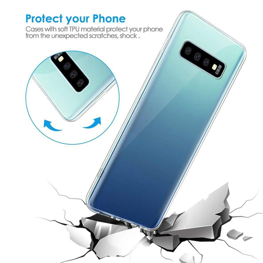 Прозрачный мягкий ТПУ Чешоте Samsung Galaxy S20 Plus S10 S8 S10 S10 s8 примечание 8 9 10 A80 A90 A70 A50 A40 A30 A20 M10 M20 Силикон фото