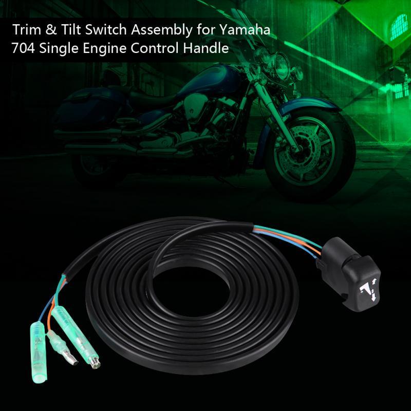 Turbos for yamaha 704 engine control handle trim & tilt switch assy  704-82563-41-00