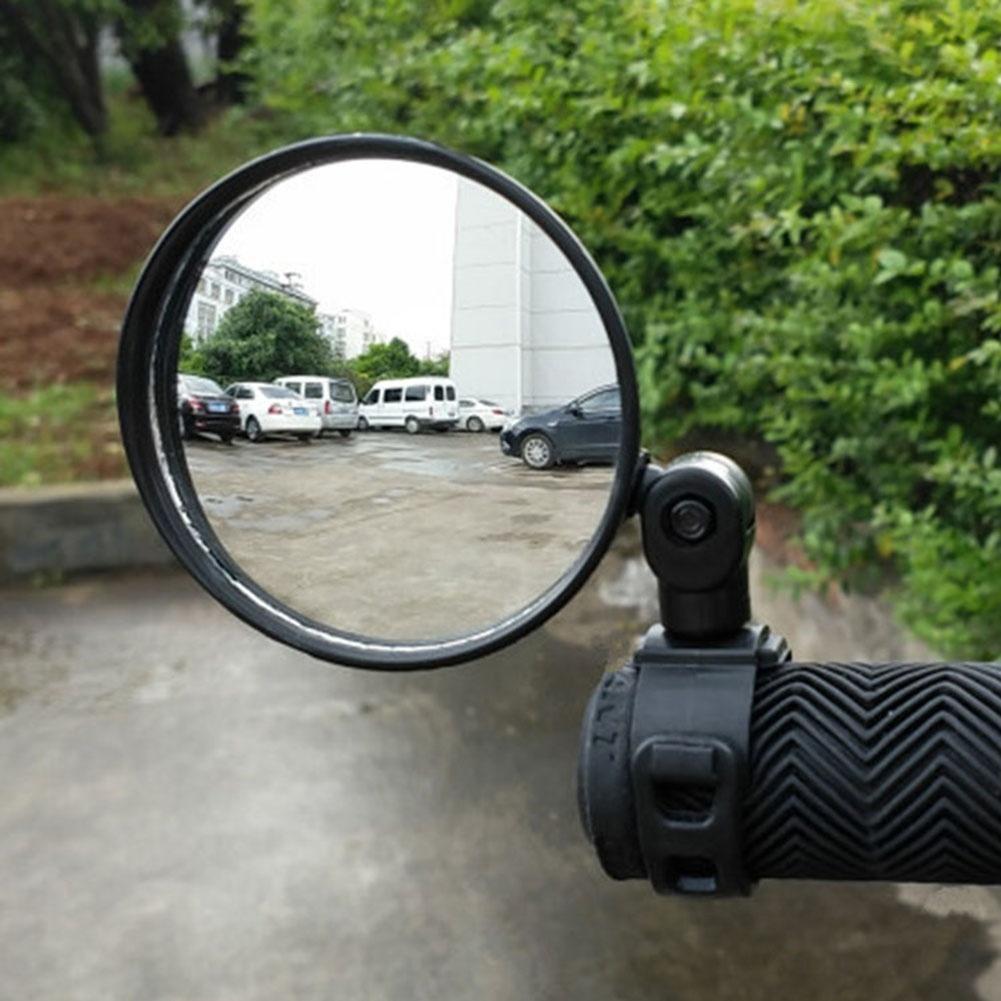 Bicycle Rearview Mirror Bike Handlebar Flexible Safe Rearview Rear View Mirror