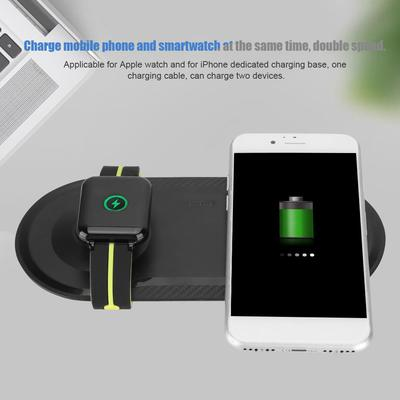 10W QI Wireless Mobile Phone Smartwatch Charging Pad Fast