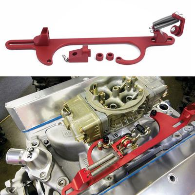 Aluminum Alloy Throttle Cable Carb Bracket for Holley 4150 4160 Carburetor  350